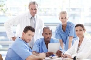 Dedicated healthcare professionals