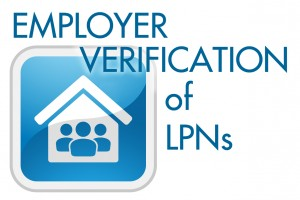 Employer Verification of LPNs
