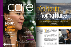 CARE Magazine Spring 2014 cover