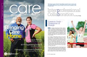 CARE magazine Fall 2014