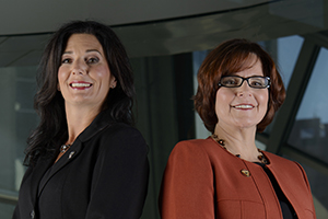 Jo-Anne Macdonald-Watson, President, and Linda Stanger, Executive Director