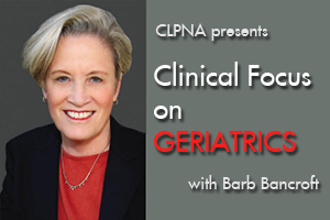 Barb Bancroft Seminars Clinical Focus on Geriatrics