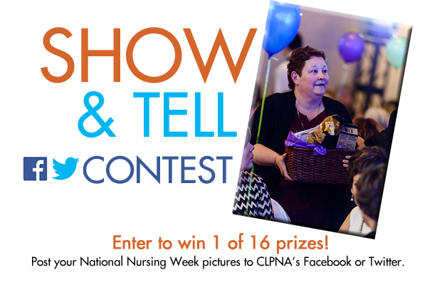 SHOW & TELL Contest For Your National Nursing Week