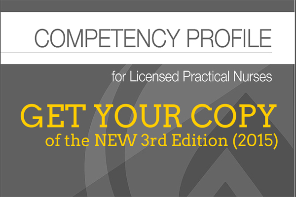 Get your copy of Competency Profile 3rd Ed