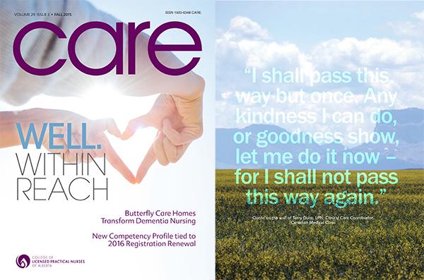 CARE Magazine Fall 2015