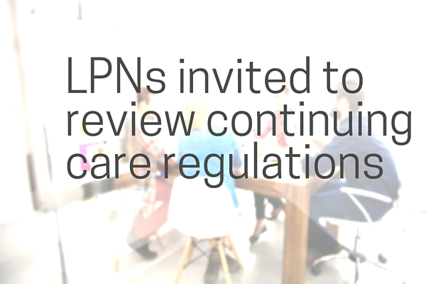Invitation to review continuing care regulations