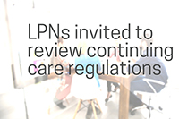 Invitations to review continuing care regulations