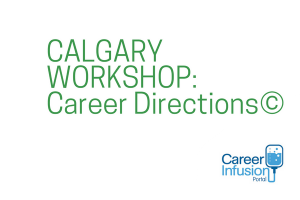 Career Directions Workshop