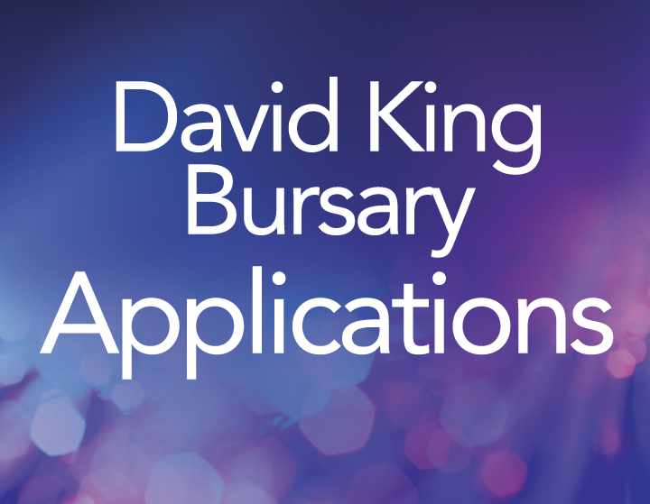 David King Bursary Applications
