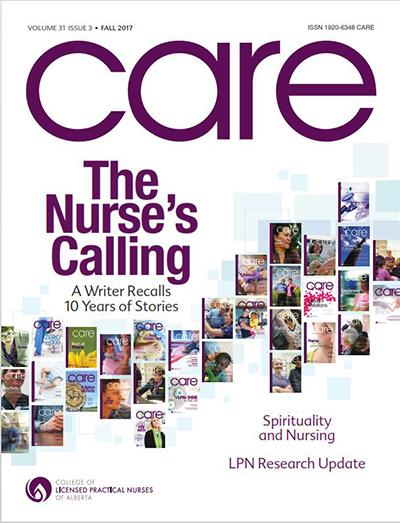 CARE Magazine - College of Licensed Practical Nurses of Alberta
