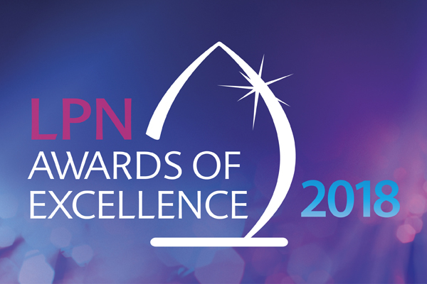 2018 LPN Awards of Excellence logo
