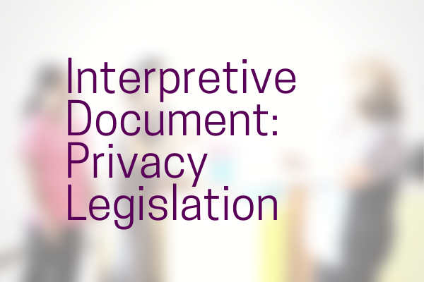 ad_Interpretive_Doc_Privacy_Legislation